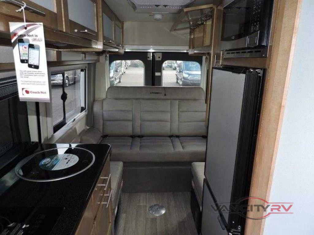 Van City RV Motorhome class B interior