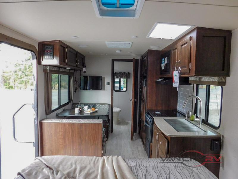 Palomino SolAire travel trailer interior