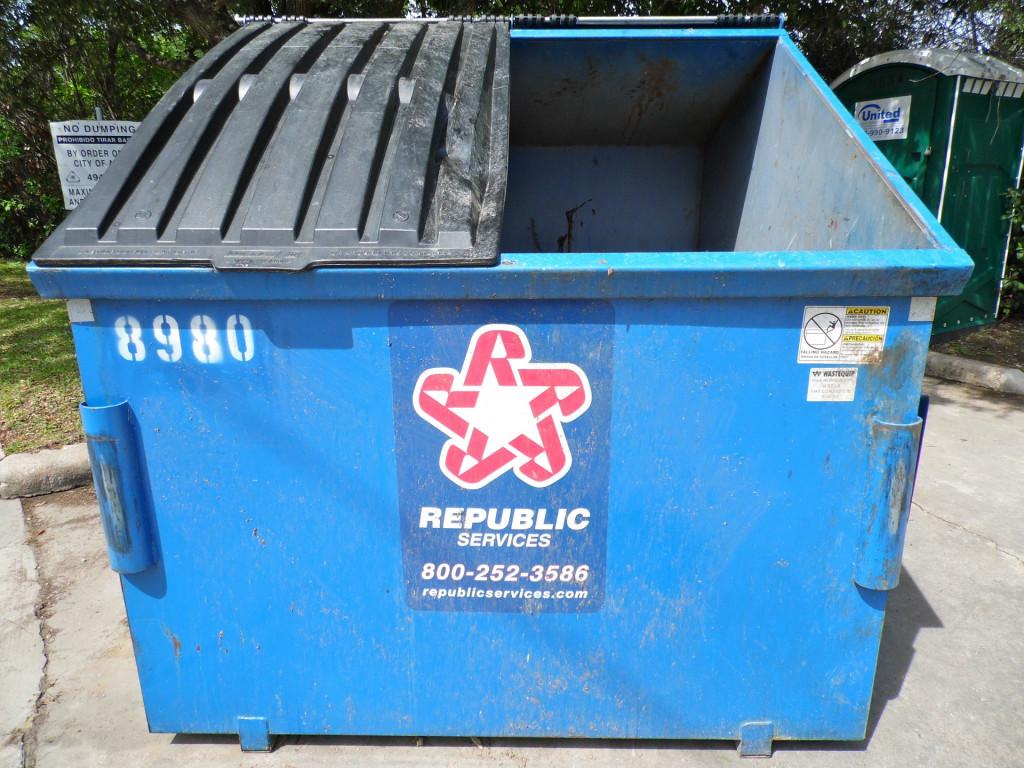 Dumpster RV Tips