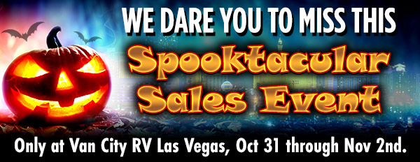 Spooktacular Sales banner
