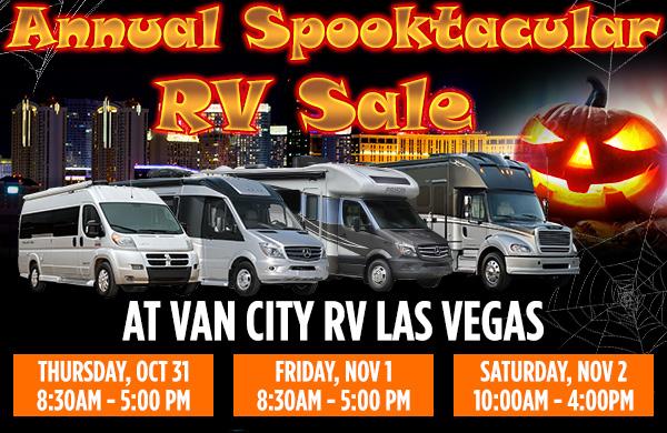 Van City Sales Event banner